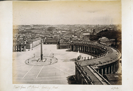 St Peter's Square, Rome.