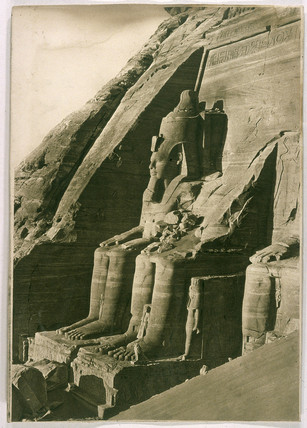 Temple of Abu Simbel, Egypt, 1902.