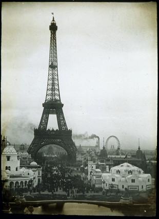 Eiffel Tower, Paris, 1855.