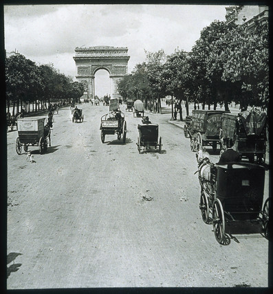 Champs Elysees, 1856.