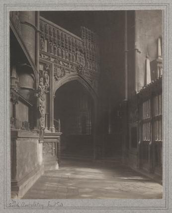 'South Ambulatory East End', 1911.