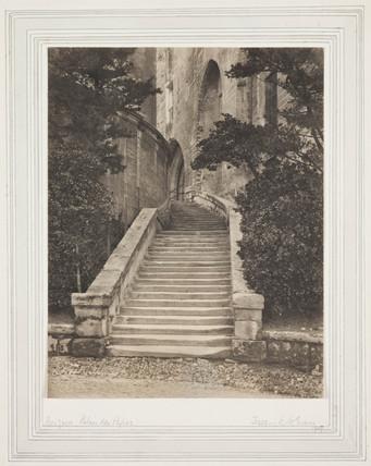 'Palais de Papes, Avignon', 1907.