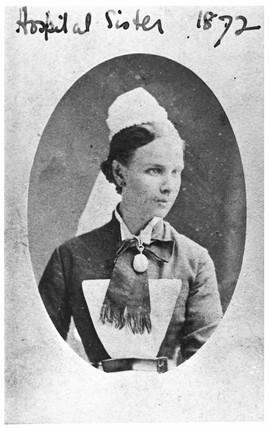 Hospital sister, 1872.