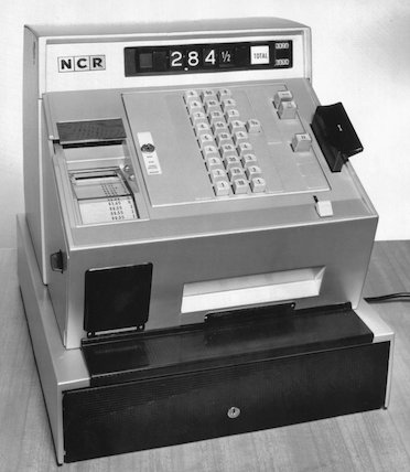 NCR class 3 cash register, 1966.