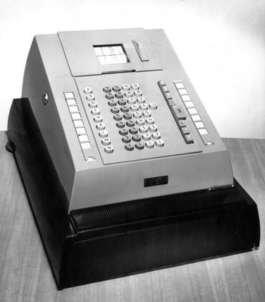 NCR class 96 cash register, 1966
