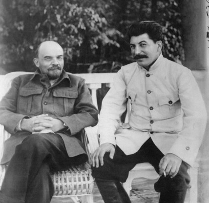 Lenin and Stalin, Russian politicians, c 1920s.