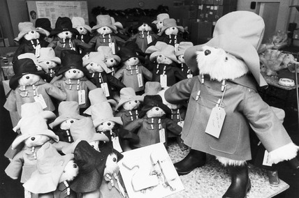Paddington bear's 21st birthday, 1979.