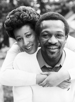 Boxer Maurice Hope and wife Pat, 1982.