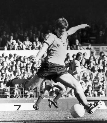 Emlyn Hughes, British footballer, 1979.