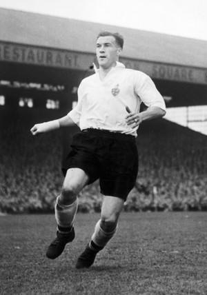 Nat Lofthouse, British footballer, 1953.