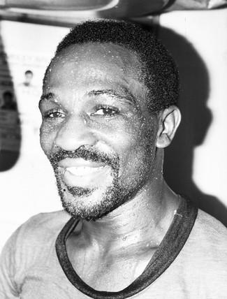 Maurice Hope, British boxer, July 1980.