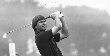 Nick Faldo, August 1987.