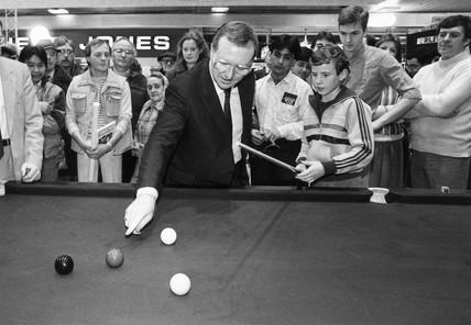 Dennis Taylor, 1985.