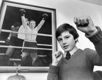 Andrew Watt, son of boxing champion, Jim Watt.