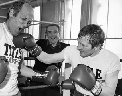 Jim Watt and Jack Webster, 1979.