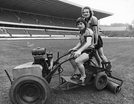 Andy Gray and John Richards, March 1980.