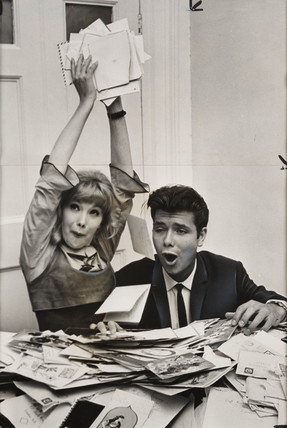 Cliff Richard and Susan Hampshire, October 1963.