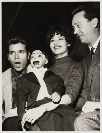 'Cliff Richard, Carole Gray, Charlie Brown and Arthur Worsley', 1963.