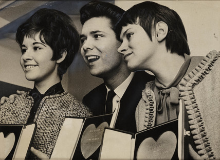 'Cliff Richard, Rita Tushingham and Helen Shapiro', 1961.