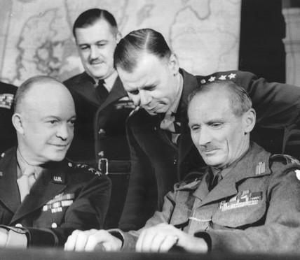 Ike and Monty, February 1944.