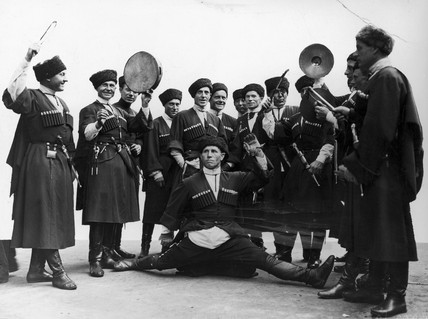 Russian cossacks, 1937.