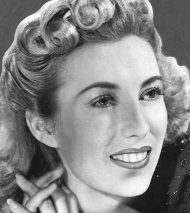 Vera Lynn, British singer, 1958.