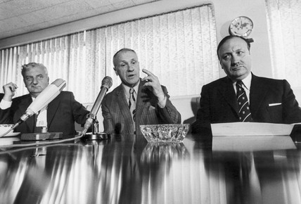 Bill Shankly resigns as manager of Liverpool FC, July 1974.
