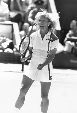 Martina Navratilova, 1987.