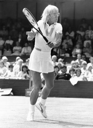 Martina Navratilova, Wimbledon 21 June 1985.