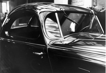 Citroen 2-litre fixed head coupe, Paris, 1934.