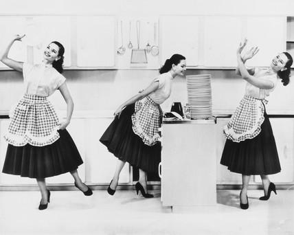 Washing-up liquid advertisement, 1950s.