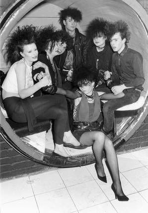 Goths, Birmingham, 1984.