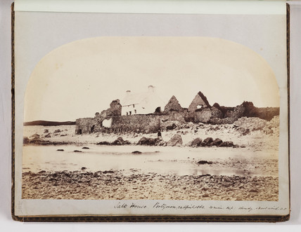The Salt House at Port-Eynon, Gower Peninsula, South Wales, 24 April 1862.