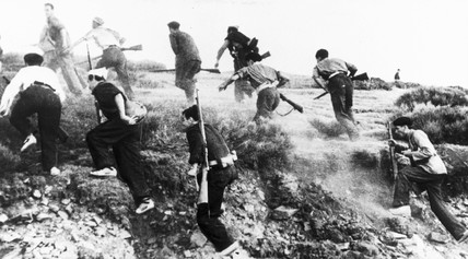 Republican soldiers in the Spanish Civil War.