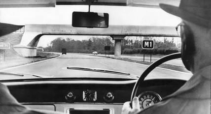 M1 Motorway, May 1960.