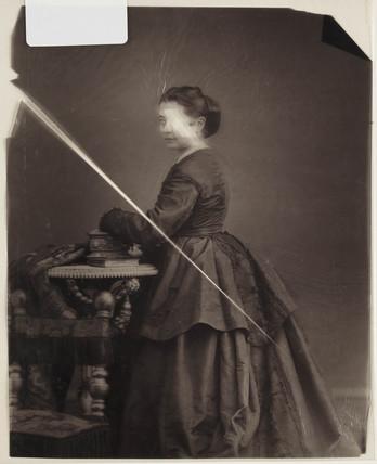 Portrait of a woman, c. 1856.