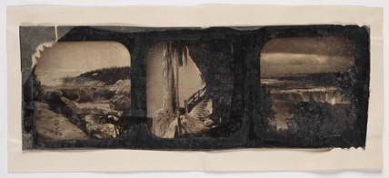 Three views of Niagara Falls, c. 1895.