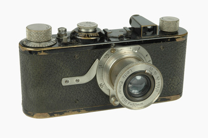 'Leica 1' camera, made by Leitz, 1925.