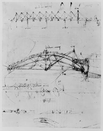 Sketch of swing bridges.