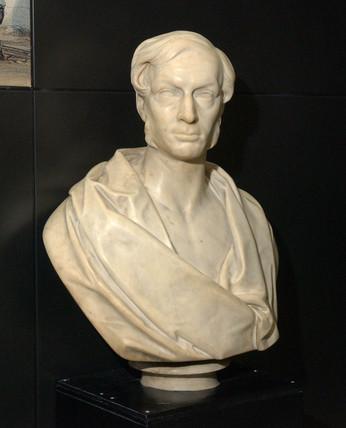Daniel Gooch, British railway pioneer,