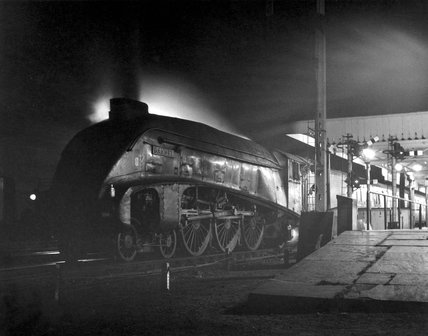 'Gannet' locomotive at Retford, Nottinghamshire, October 1963.