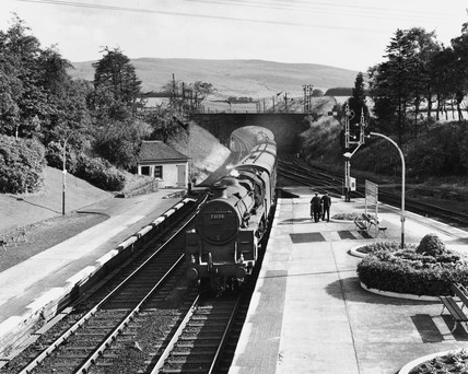 Gleneagles Station, Scotland, 17 July 1962.