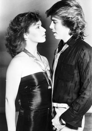 Theresa Bazar and David van Day, October 1978.