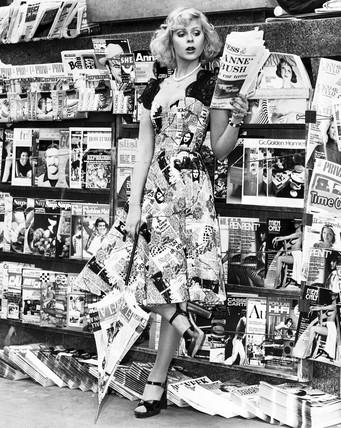 News dress, April 1974.