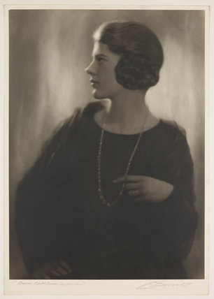 Doris Katherine Carpenter', c 1925.