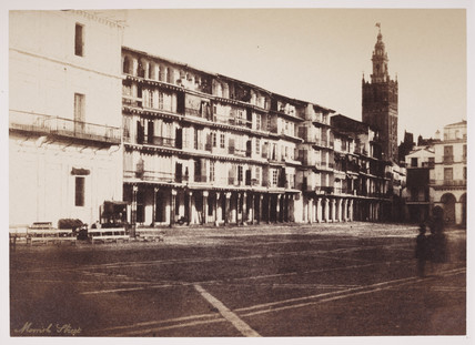 Market Square in Seville, c 1849.