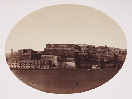 Malta's harbour, c 1849.