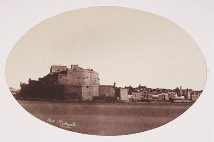 Fort St Angelo, Malta, c 1849.