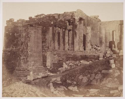 The Acropolis, Athens, c 1849.