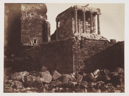 The Temple of Victory, Athens, c 1849.